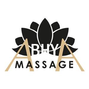 Abhya Massage logo