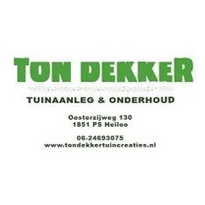 Ton Dekker Tuinaanleg & Onderhoud logo