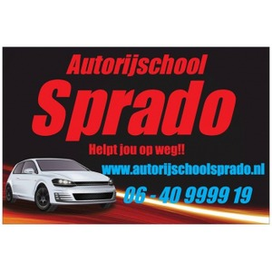 Autorijschool Sprado logo