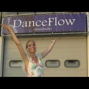 DanceFlow dansstudio logo
