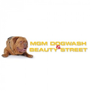 MGM Dogwash & Beauty Street logo