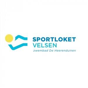 Sportloket Velsen Zwembad de Heerenduinen logo