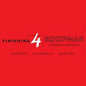 Finishing 4 Amsterdam logo