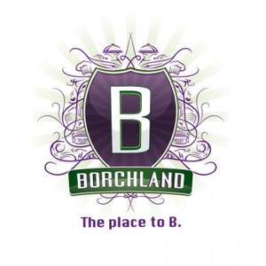 Borchland, The place to B. logo