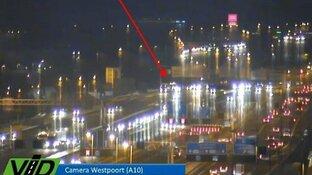 Drukte op wegen rond Amsterdam en Haarlem door ongelukken en pechgeval