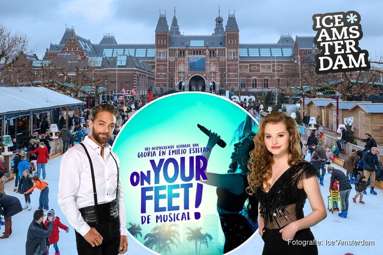 Ice*Amsterdam & 'On Your Feet!' organiseren wereldrecordpoging op Museumplein