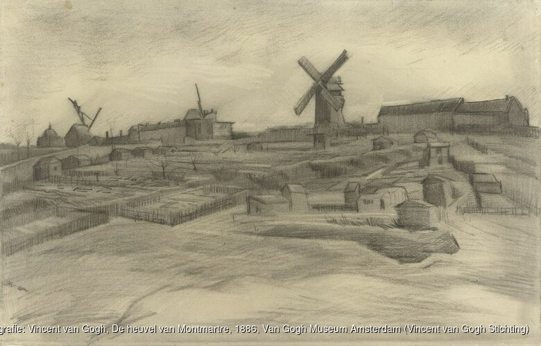 Nieuwe tekening Van Gogh ontdekt