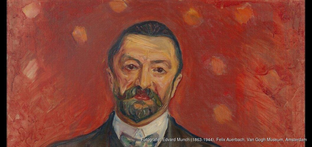 Portret van Felix Auerbach door Edvard Munch nieuwste aanwinst in collectie Van Gogh Museum