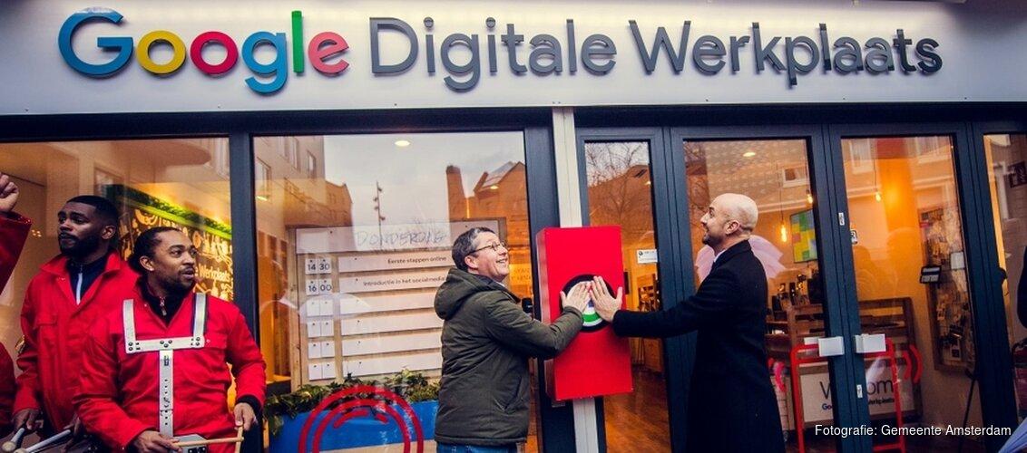 Digitale werkplaats in Amsterdamse Poort
