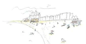 Strandeiland op IJburg krijgt 8000 woningen en een groot recreatiestrand
