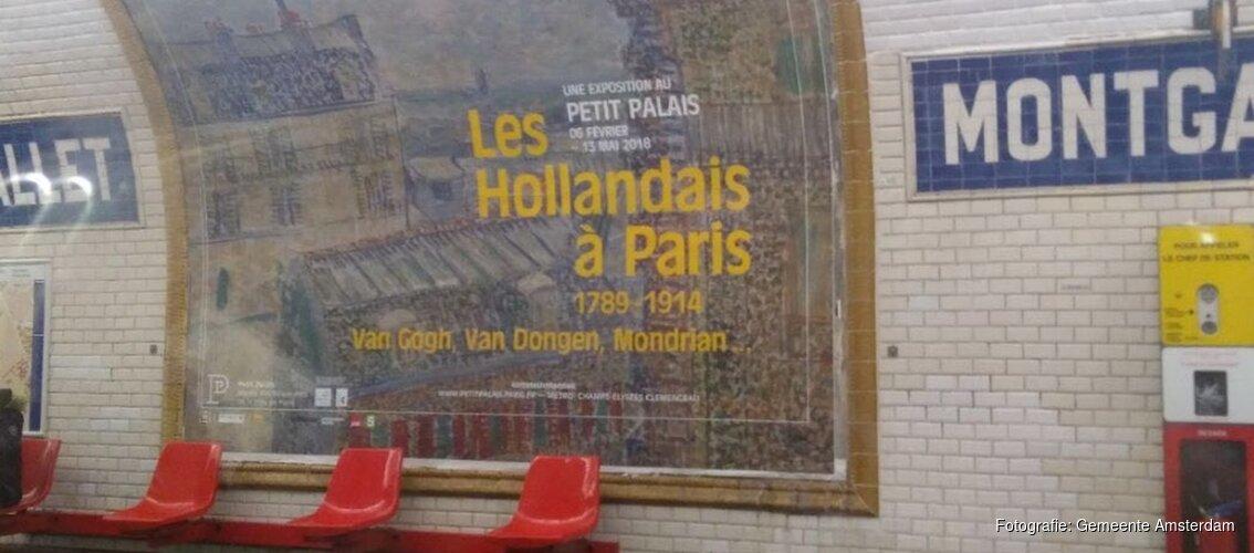 Terug uit Parijs met een berg contacten