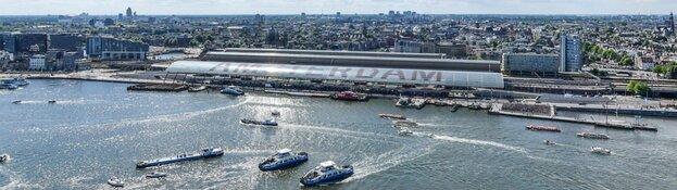Nieuwe fiets- en voetgangersbrug over Noordhollandsch Kanaal