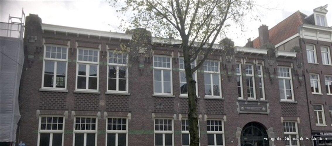 Lindengracht 93, verbouwing schoolgebouw