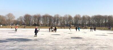 Kom schaatsen op natuurijs in de Tuinen van West