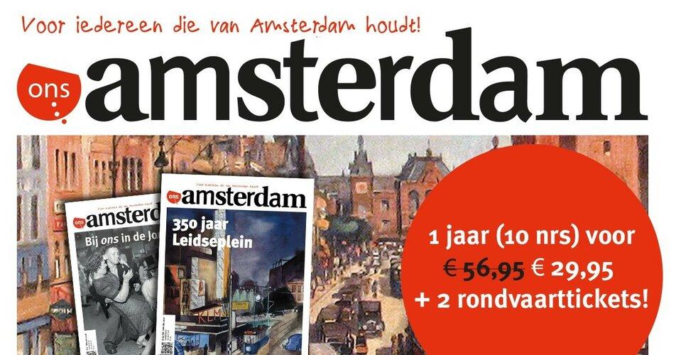 Ontdek de geschiedenis van Amsterdam!