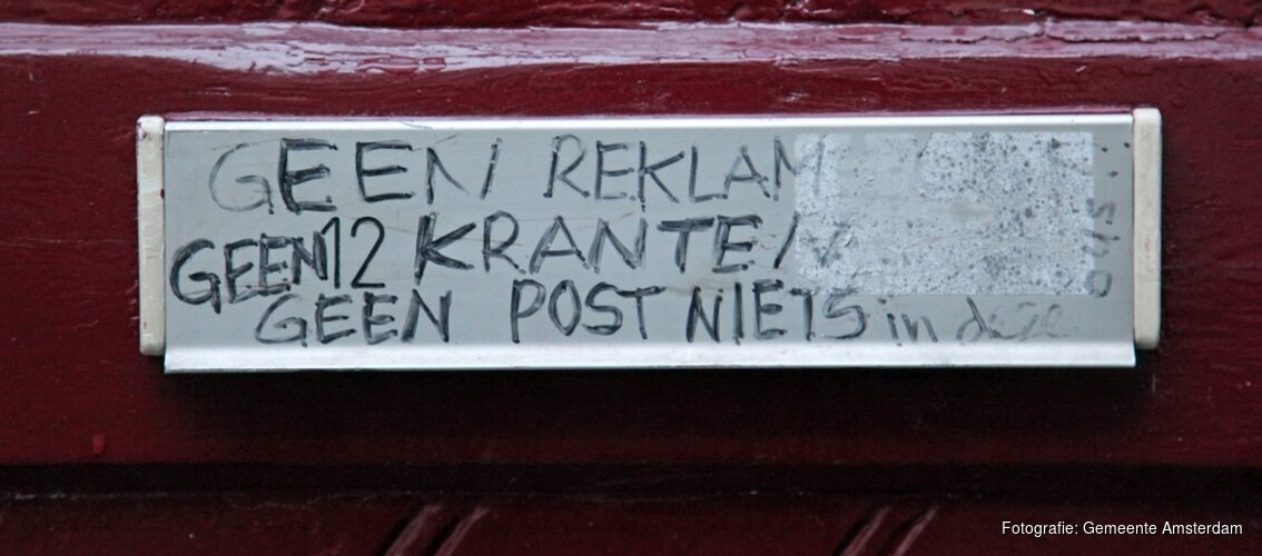 Amsterdammers zeggen ja tegen ja/ja-sticker