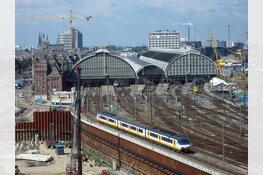 Amsterdam Centraal terug naar negen sporen'