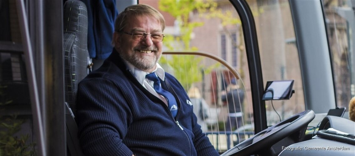 Ook in 2018: Gratis reizen met GVB voor ouderen