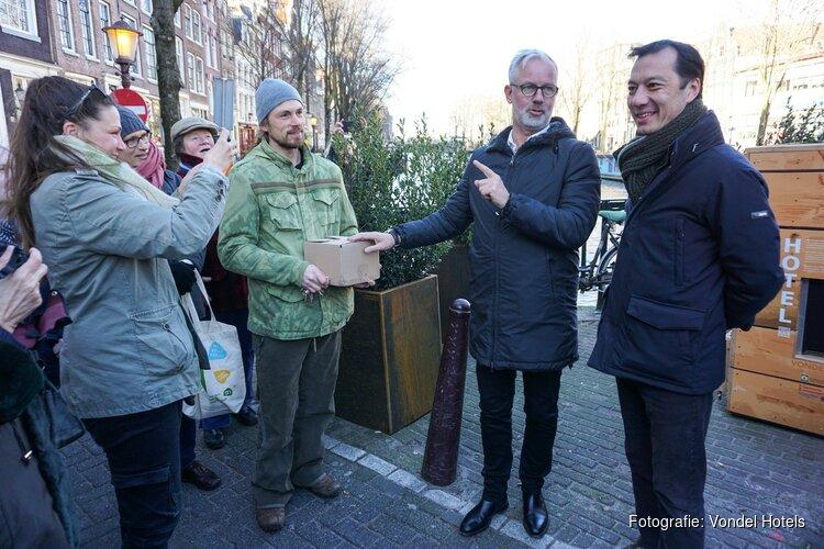 Vondel Hotels opent Wormenhotel op Bantammerbrug Geldersekade Amsterdam