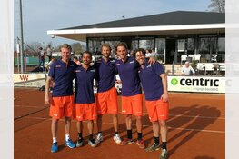 Eredivisie tennis bij Amsterdamse club ATC Sloterplas
