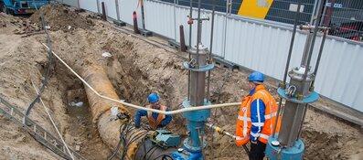 Nieuwe manier van gasleidingen vervangen positief voor omgeving