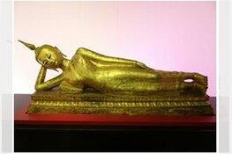 Eeuwenoud en hedendaags spectaculair bijeen in tentoonstelling over het leven van Boeddha in De Nieuwe Kerk