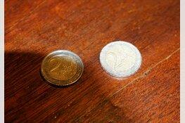 BREAKING: Valse 2 Euromunten in omloop in Heerhugowaard