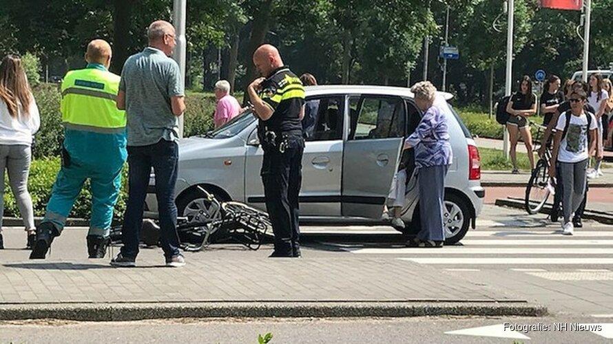 'Twee fietsers gewond door aanrijding met auto'