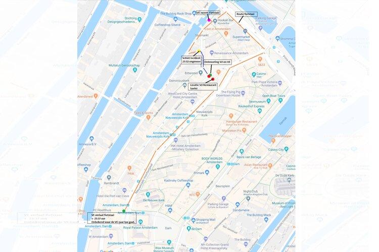 Amsterdam - Gezocht - Schietincident Stromarkt
