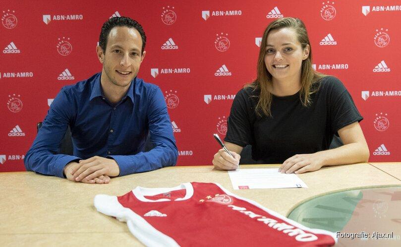 Eshly Bakker keert terug bij de Ajax Vrouwen