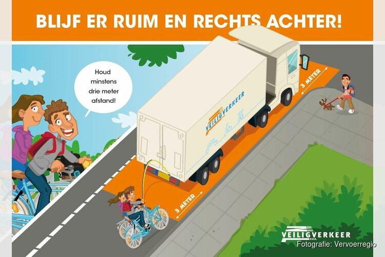 Dodehoekles op scholen in Vervoerregio Amsterdam