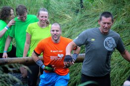 Ron Vlaar na Obstacle Run Heerhugowaard: 'Best pittig, maar superleuk'