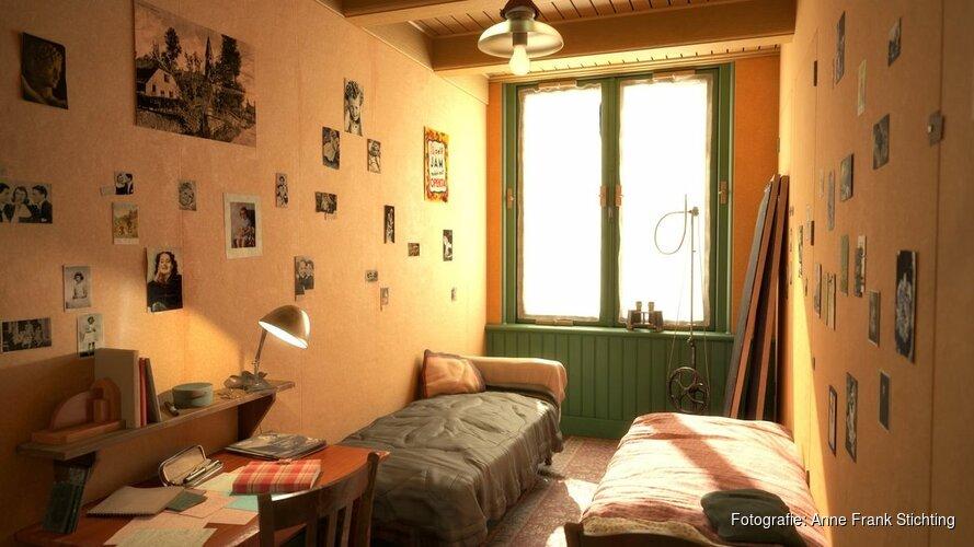 Lancering Anne Frank House VR op geboortedag Anne Frank; indringend inkijkje in Anne Franks onderduikplaats
