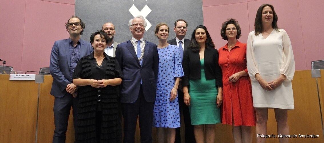 De nieuwe wethouders van Amsterdam: wie doet wat?