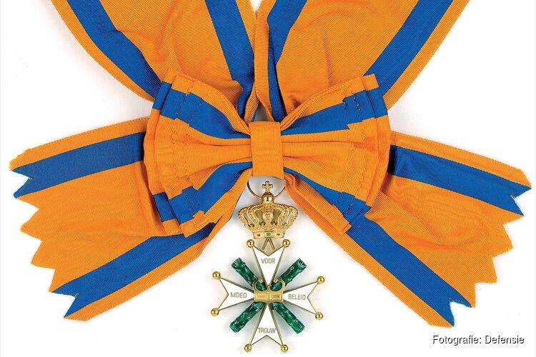Koning benoemt majoor-vlieger Roy de Ruiter tot nieuwe Ridder Militaire Willems-Orde
