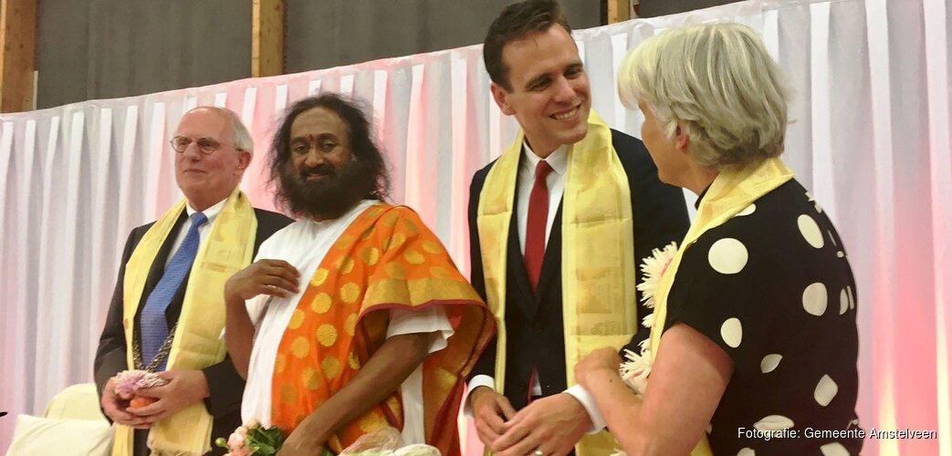 Bijeenkomst Indiase gemeenschap in het kader van de Internationale Yogadag