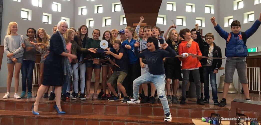 Leerlingen Piet Hein-school winnaars zonne-energie project