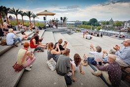 Vier de zomer op het dak van NEMO