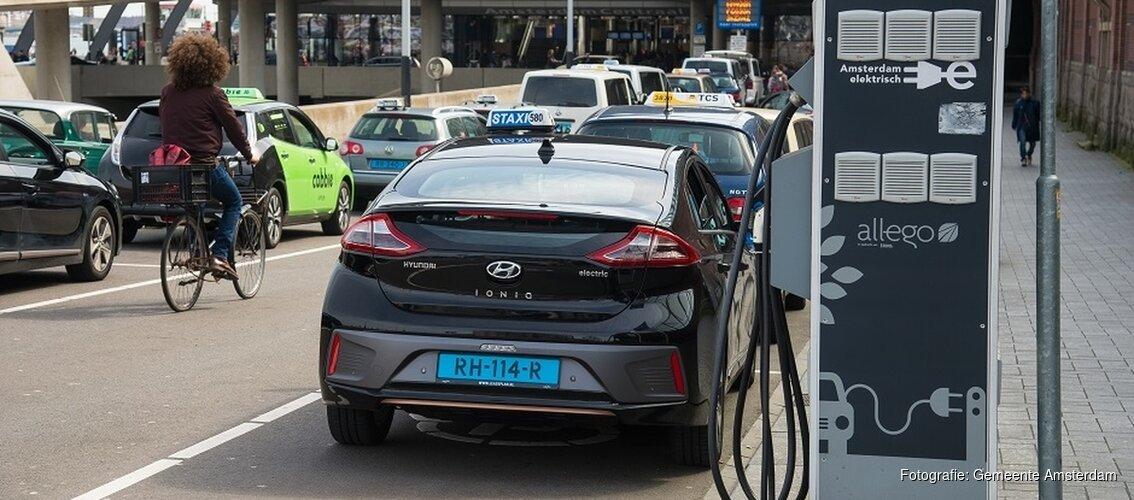 Nieuwe subsidie voor elektrische taxi's
