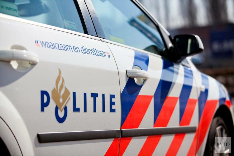 Mogelijke vluchtauto aanslag Telegraaf-gebouw uitgebrand in Amsterdam-Noord