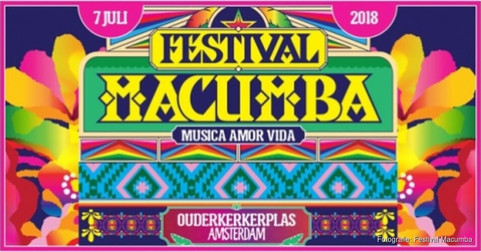Zaterdag 7 juli Festival Macumba