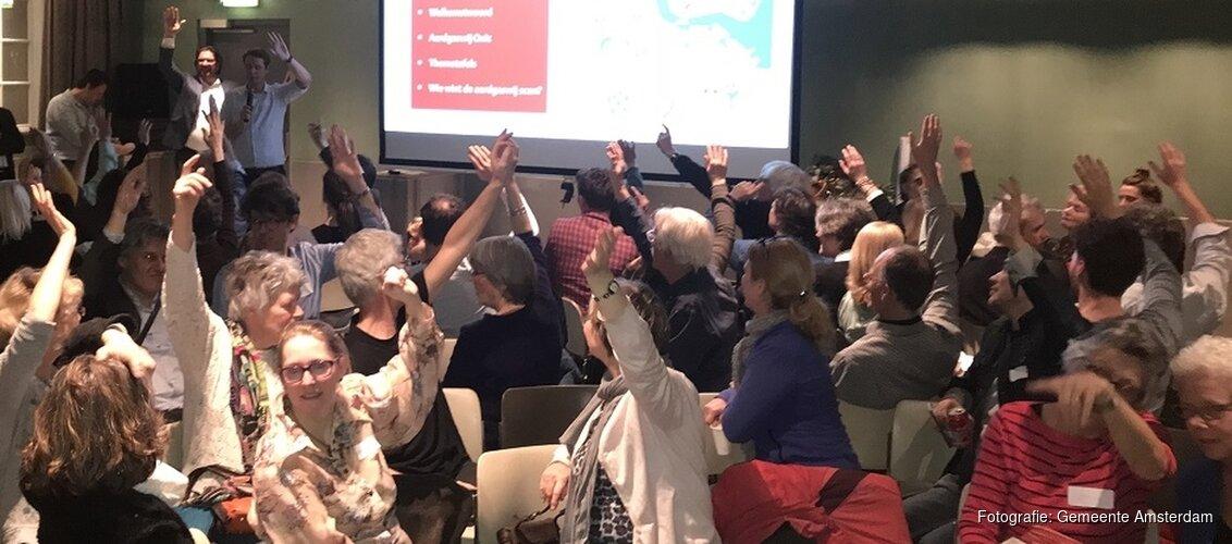 Praat mee tijdens de informatieavond over aardgasvrij Amsterdam