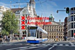 Nieuwe hoofdroutes door de binnenstad Amsterdam