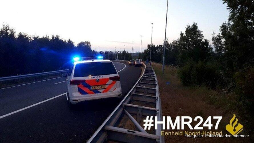 """Boetes voor negeren rood kruis bij afrit A5: """"Ze reden rakelings langs"""""""