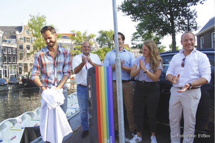 Opladen van je elektrische auto voor het goede doel tijdens Amsterdam Pride