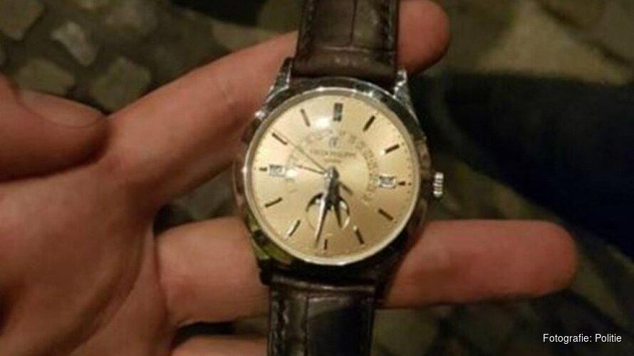 Toerist op straat beroofd van horloge ter waarde van 150.000 euro