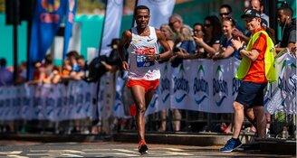 Kenenisa Bekele aan start TCS Marathon