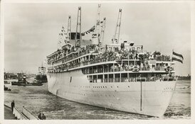 Het Scheepvaartmuseum toont veelzijdige tentoonstelling over het iconische passagiersschip Oranje