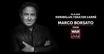 Speciaal jubileumconcert Marco Borsato voor War Child in Carré