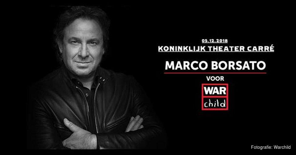 Speciaal jubileumconcert Marco Borsato voor War Child in Carré